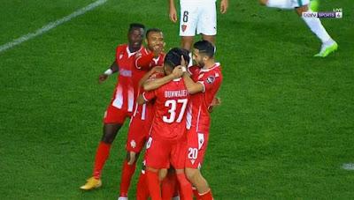 ملخص اهداف مباراة الوداد ومولودية الجزائر (1-1) دوري ابطال افريقيا