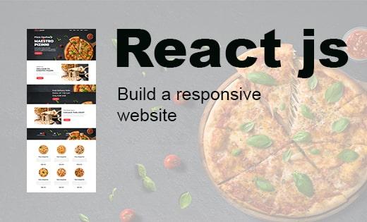 Reactjs responsive website