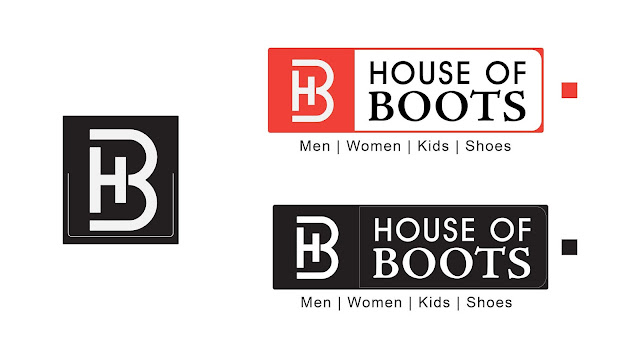 House of Boots Logo and Social Media Post Design