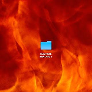 copertina di machete mixtape 4 che ha ottenuto il disco di platino
