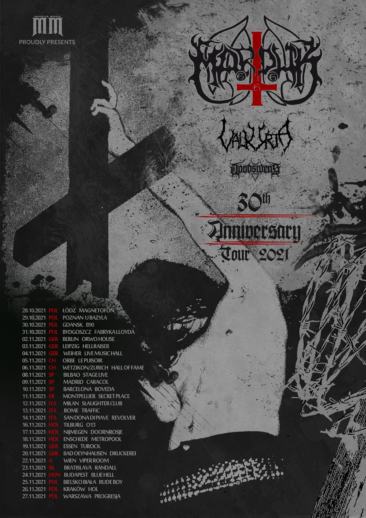 marduk europe tour