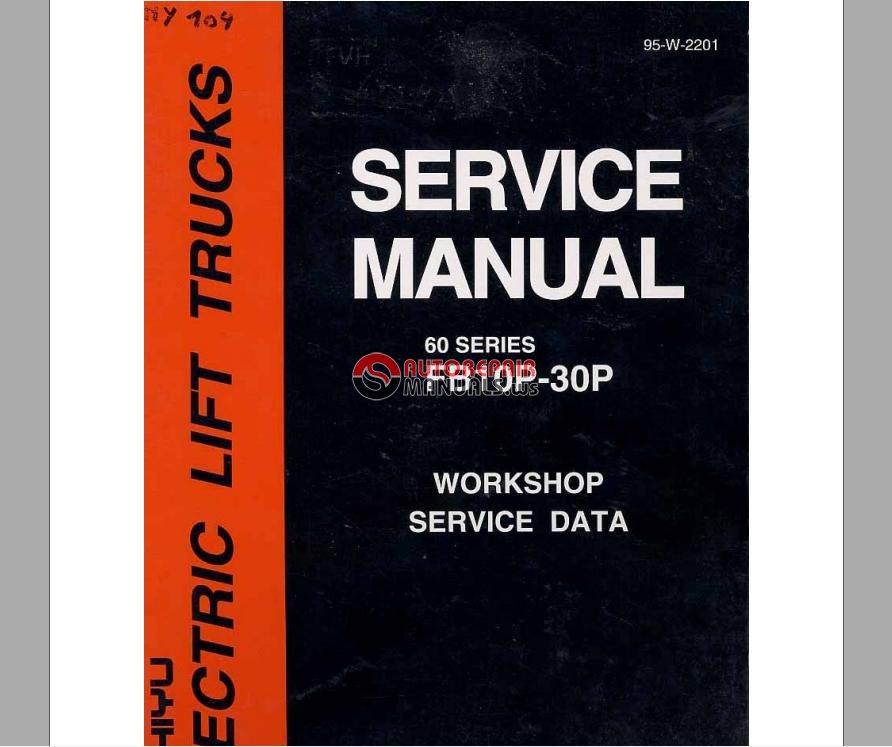 Auto Repair Manuals  Nichiyu Forklift Service Manual