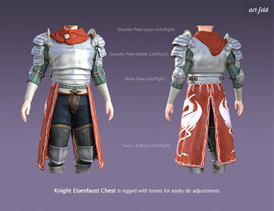 Knight Eisenfaust for Genesis 3 Male
