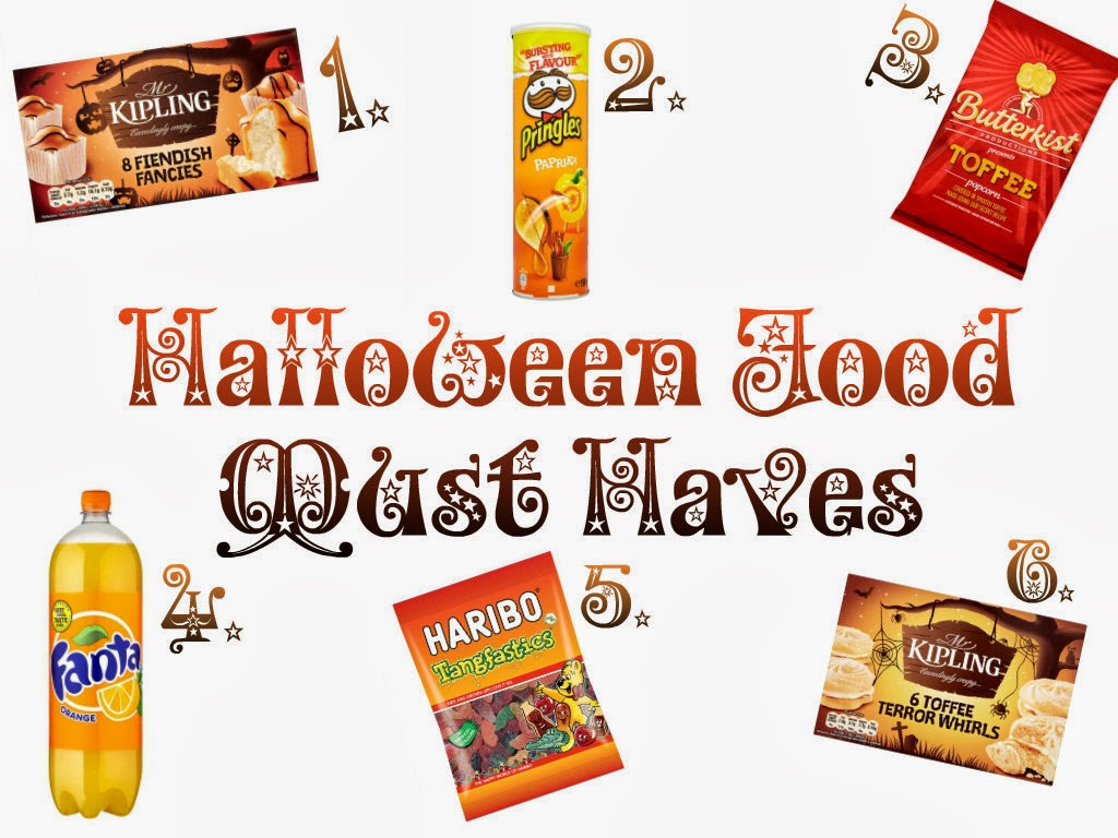Halloween food must haves 2013