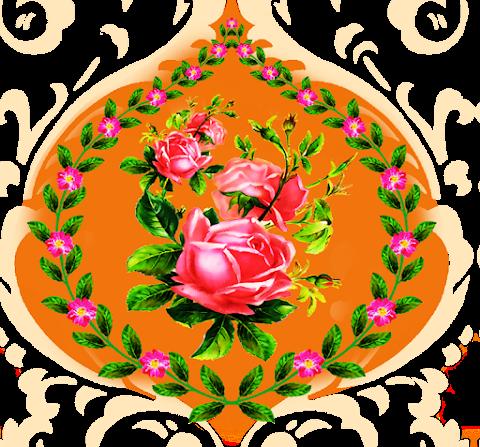Flower-love-textile-patch-7003