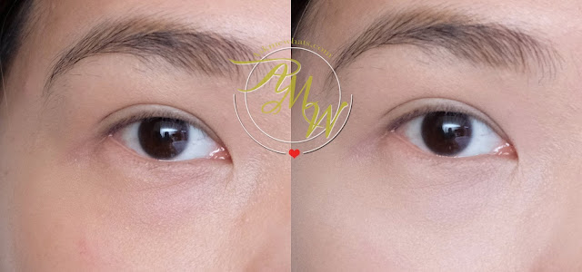 before and after photo of Benefit's Boi-ing Cakeless Concealer Review by Nikki Tiu of askmewhats.com