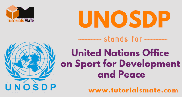 UNOSDP Full Form