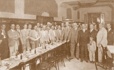 Vermut en homenaje a ajedrecistas, Barcelona 1930