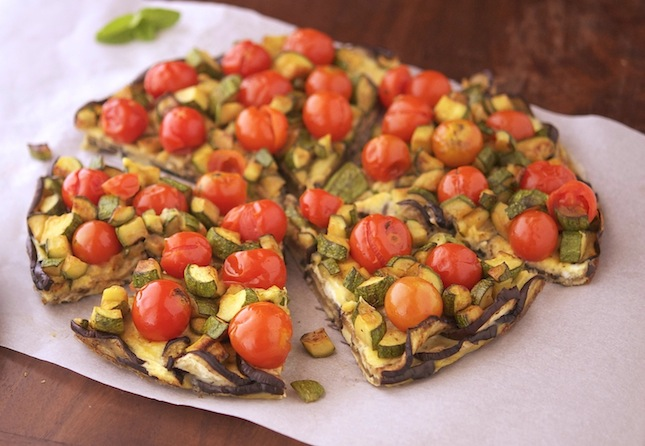 Crustless Veggie Tart