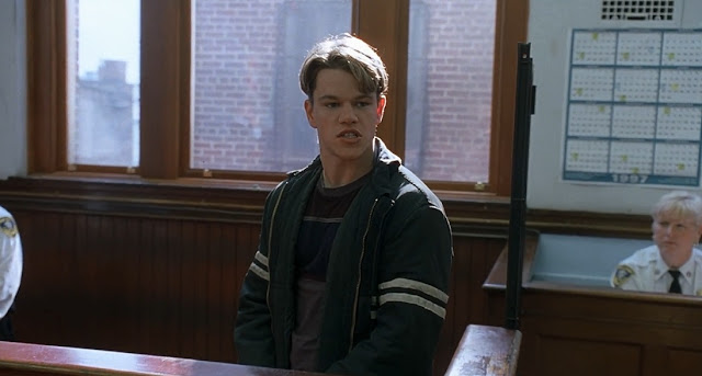Matt Damon Good will huntung 1997