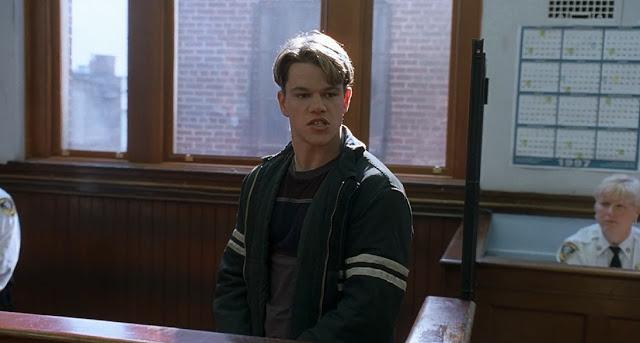 Matt Damon Good will huntung 1997