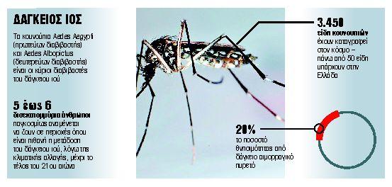 Δάγκειος πυρετός: Επιστρέφει και στην ΑΜΘ μια ξεχασμένη πανδημία (;)