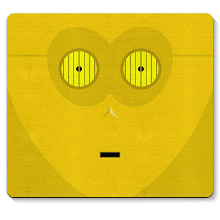 Mouse pad Robo C3PO Star Wars