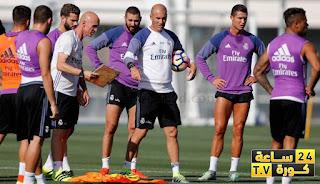ريال مدريد يستعد لمباراة ليفربول بالقوة الضاربة