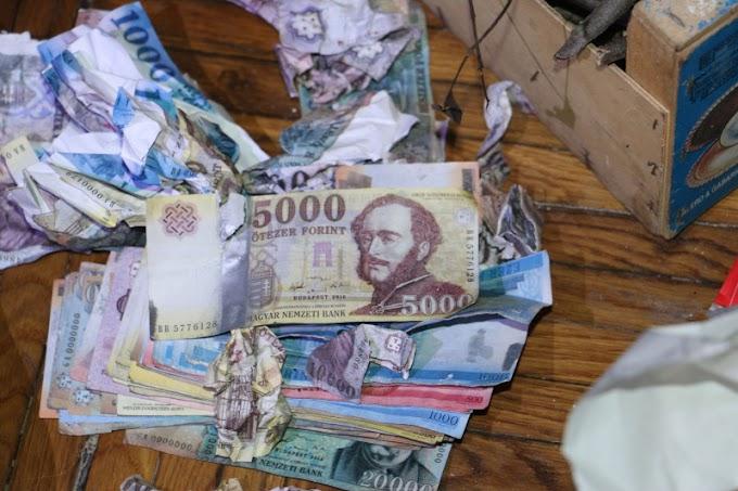 Otthon fénymásoltak 500, 1000 és 10 ezer forintos címletű bankjegyeket