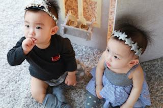 Image: Adorable twins, on Pixabay