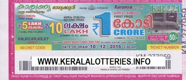 Kerala lottery result official copy of Bhagyanidhi_KR-90