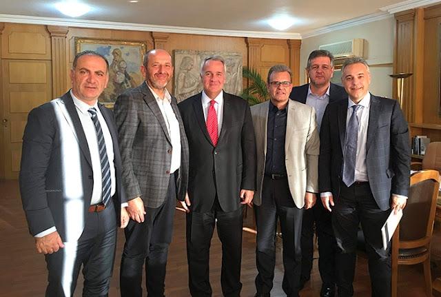 Συνάντηση των Επιμελητηρίων Πελοποννήσου με τον Υπουργό Αγροτικής Ανάπτυξης Μ. Βορίδη
