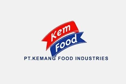 Lowongan Kerja Pekanbaru PT. Kemang Food Industri  September 2021