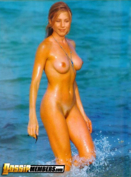 Opinion you aniston beach nude look