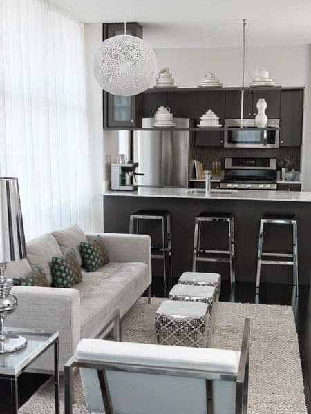 Fotos ideas para decorar casas - Decorar salon con cocina americana ...