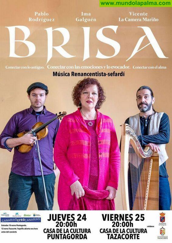 """Concierto """"Brisa"""" en Puntagorda y Tazacorte"""