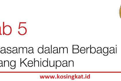 Kunci Jawaban PKN Kelas 7 Halaman 134, 135 Uji Kompetensi 5