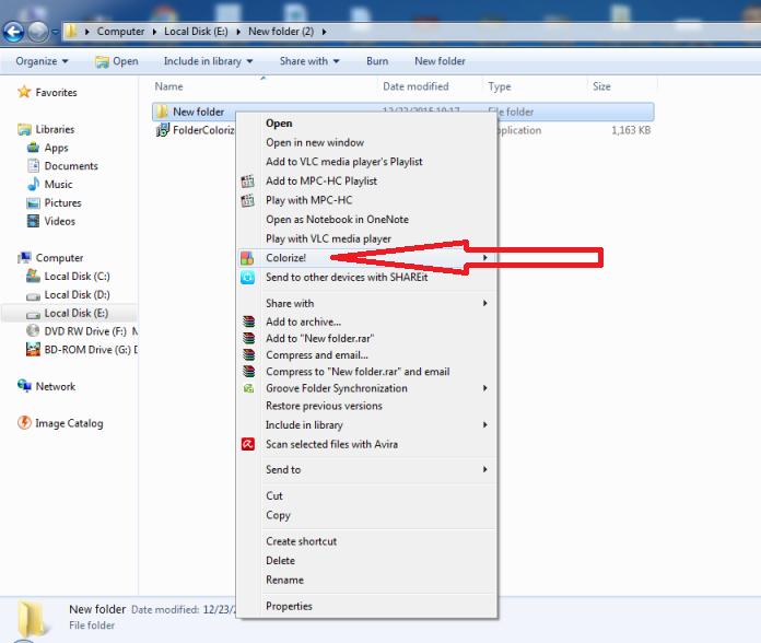 3 Cara Mudah  Membuat Folder Windows Menjadi Berwarna Warni