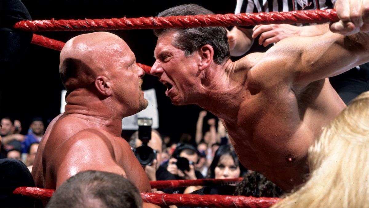 Vince McMahon chegou a duvidar que Steve Austin fosse ser um main eventer na WWE