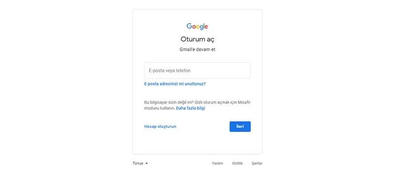 Gmail Hesabı Silme?