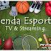 Agenda esportiva da Tv  e Streaming, quinta, 24/06/2021