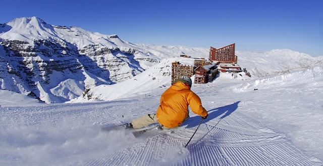 Excursão para esquiar em Santiago do Chile
