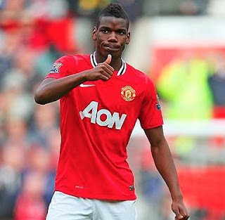 Goaaaaaal! Watch Video of Pogba's First EPL Goal. ...Its Man u 4 - 0 Leicester
