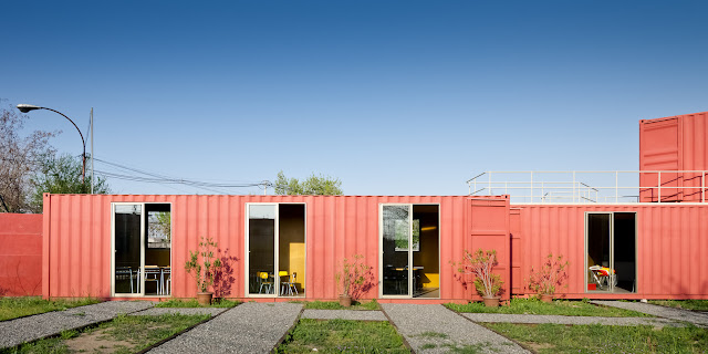 Shipping Container Sale Rooms, Showroom and Offices, Santiago, Chile 4