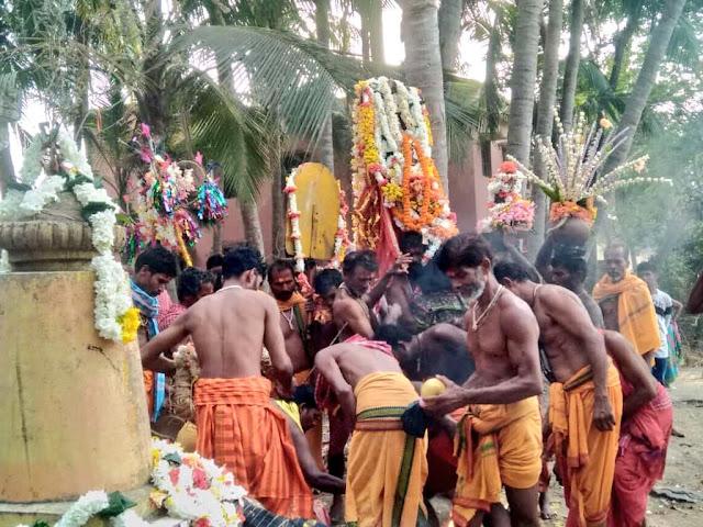 Danda Jatra at Taratarini Temple