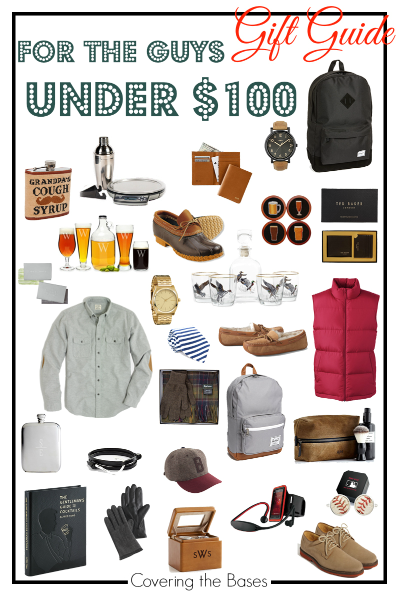 gift guide for the guy under 100 new york city fashion and lifestyle blog covering the bases. Black Bedroom Furniture Sets. Home Design Ideas