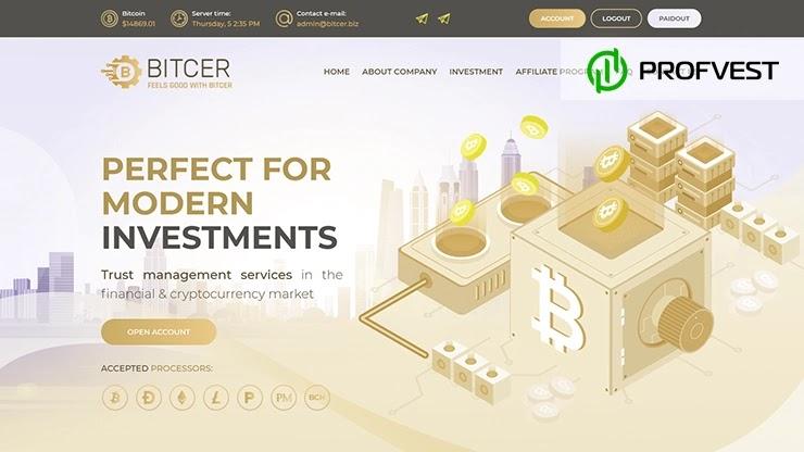 Bitcer обзор и отзывы HYIP-проекта