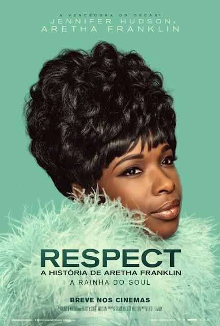 """Jennifer Hudson em cartaz de """"Respect: A História de Aretha Franklin"""""""