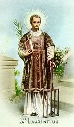 St. Lawrence - Deacon and Martyr