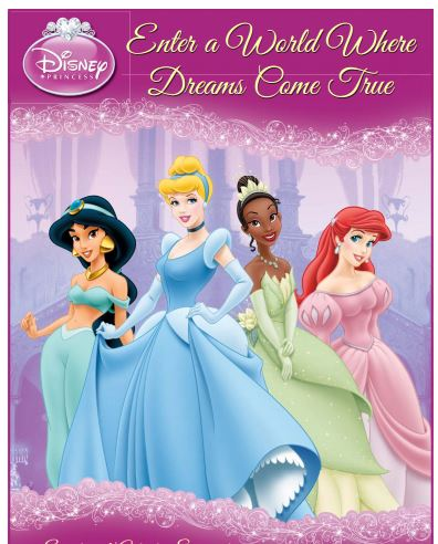 Disney Princess Free Printable Activity Book.