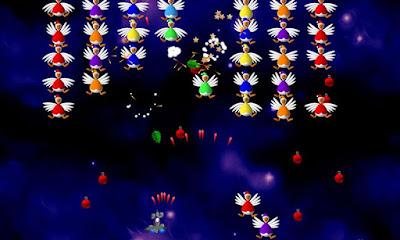 لعبة Chicken Invaders 4 مكركة، لعبة Chicken Invaders 4 مود فري شوبينغ