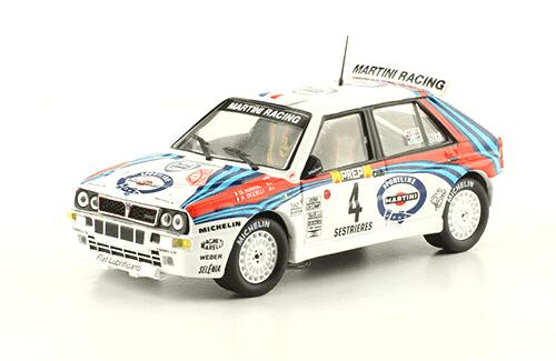 """collezione rally monte carlo Lancia Delta HF Integrale """"Evo"""" 1992 D. Auriol - B. Occelli"""