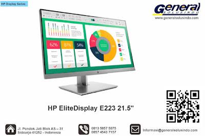 HP EliteDisplay E223 21.5