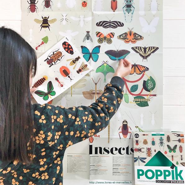 Poppik -  INSECTES - Poster géant