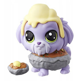 Littlest Pet Shop Series 4 Hungry Pets Sheepdog (#4-149) Pet