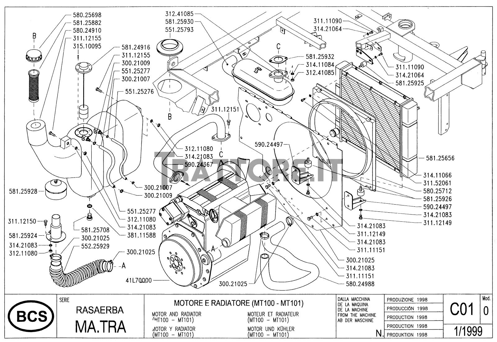 Bcs matra 205 manual