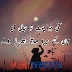 Best Friend Poetry In Urdu