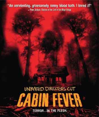 Cabin Fever 2002 720p 750MB BRRip Dual Audio [Hindi - English]