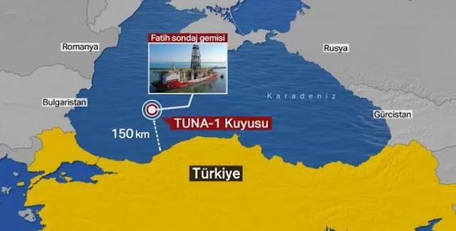 Το κοίτασμα Ερντογάν στη Μαύρη Θάλασσα, προσφέρεται για ελληνικά συμπεράσματα