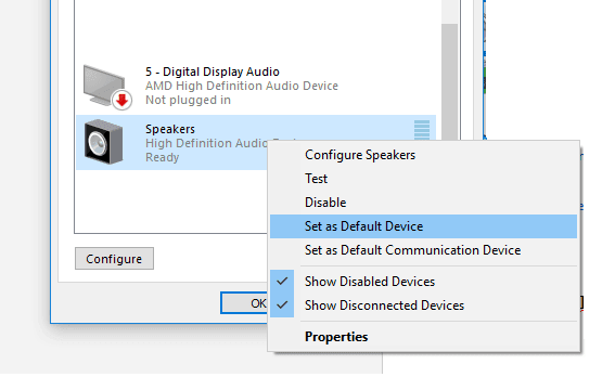 Mengaktifkan speaker laptop